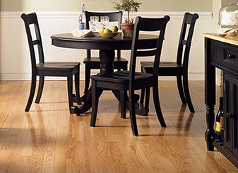 Hardwood floors are a natural and beautiful way to improve your home.