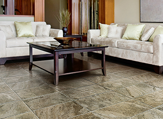 Ceramic and porcelain tiles are available in a large array of styles, colors and sizes.